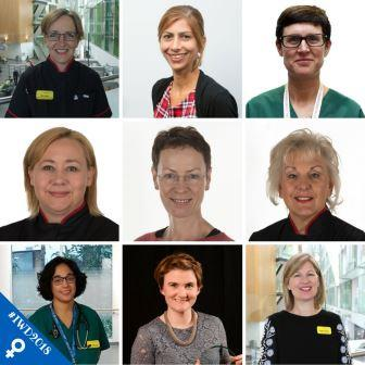 Some of the women who are senior leaders at North Bristol NHS Trust are helping mark International Women's Day 2018