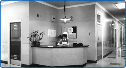 We are looking for more photos from the last 70 years, like this one of a nurse in the 1960s