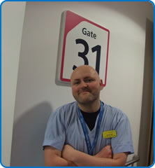 Acute Medicine Unit Assistant Practitioner Andy Hall
