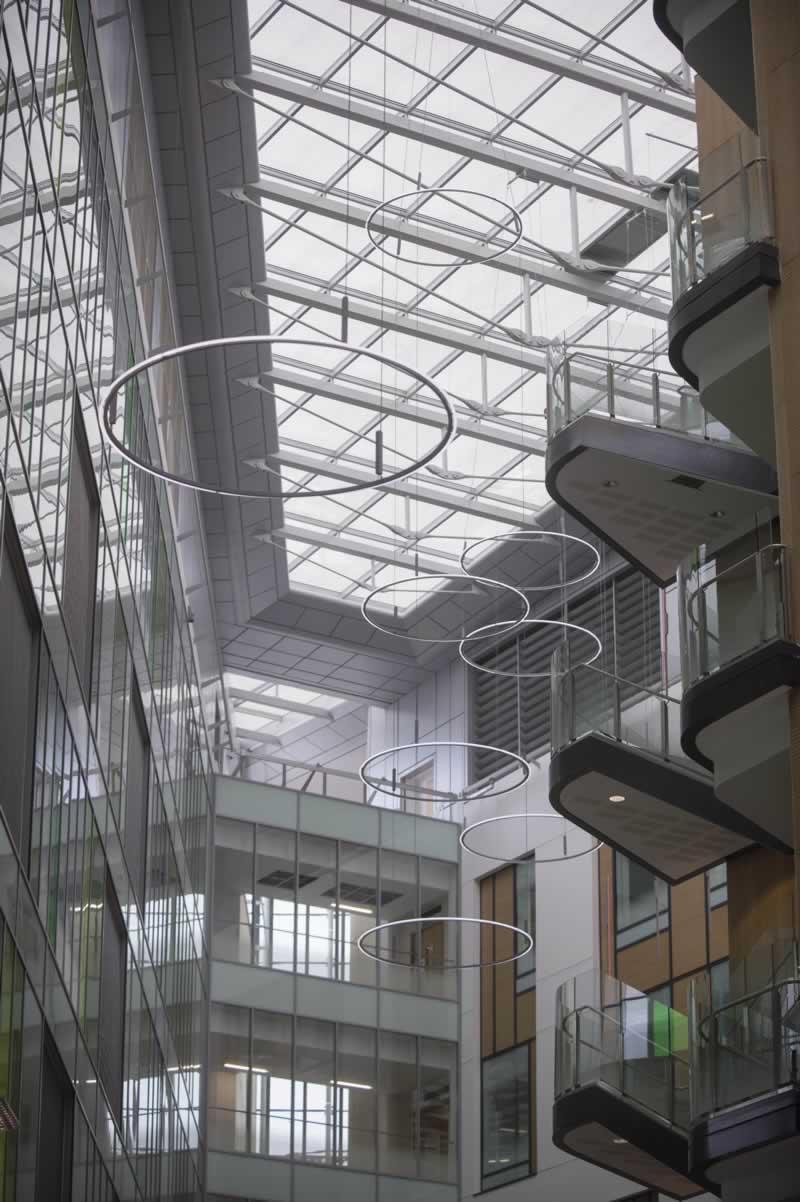 Atrium Art Brunel Building