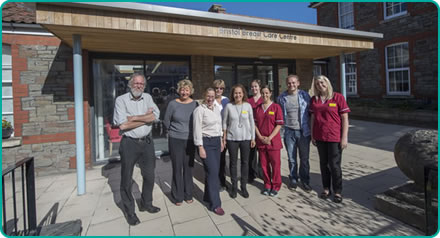 Bristol Breast Care Centre Staff