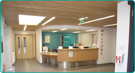 Bristol Breast Care Centre Reception