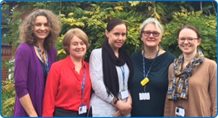 Some members of the Bristol Chronic Fatigue Syndrome/ ME Service, which has worked on an innovative project with Action for M.E.