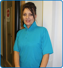 Domestic Carrie Valentine is among North Bristol NHS Trust staff who will be working on Christmas Day