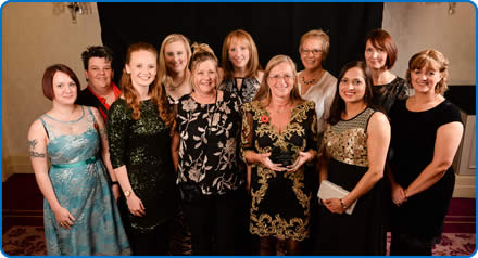 The Medicines Management Team with their Patient Safety Champion Award