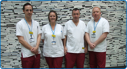 Imaging Support Workers have been shortlisted in the Making A Difference category for the Exceptional Healthcare Awards