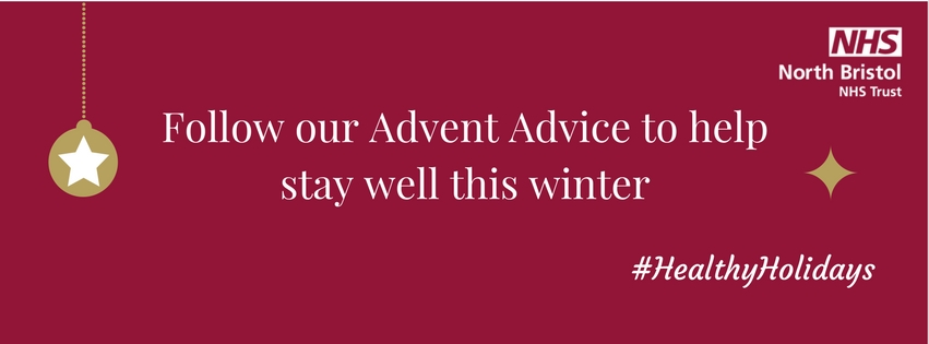 Follow our Advent Advice to help you stay well this festive season