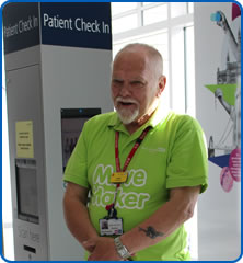 Move Maker volunteer Geoff Smith born in 1948 like the NHS