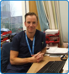 Acute Medicine Unit Ward Manager George Duffield