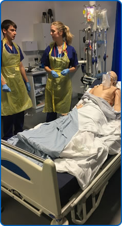 Southmead Hospital ICU Simulation Training.