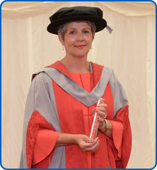 Head of Bristol Genetics Laboratory at Southmead Hospital Eileen Roberts has received an honorary degree from UWEBristol