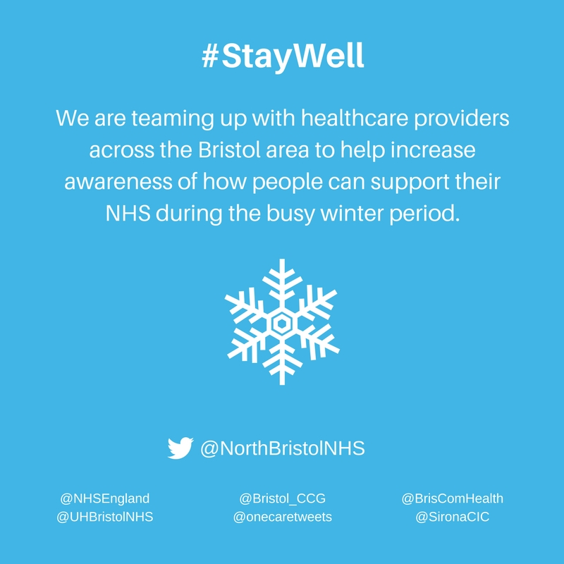 Support your NHS and join in the #StayWell Twitter campaign