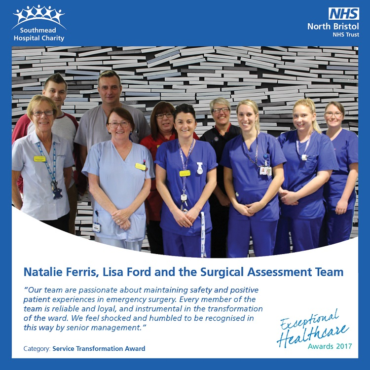Natalie Ferris, Lisa Ford and the Surgical Assessment Team