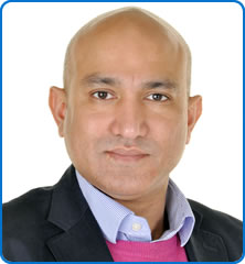 Consultant Neurosurgeon Nik Patel who carried out the world first DBS procedure specifically for high blood pressure