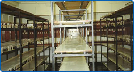 The old Southmead Hospital pharmacy - after items were moved into the new purpose-built building