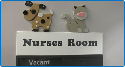 Nurses Room at Monks Park House
