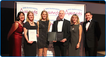 North Bristol NHS Trust took the top award at the 2016 NHS Sustainability Awards