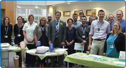 The Major Arterial Centre at Southmead Hospital Bristol is celebrating its first anniversary.