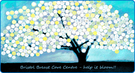 An artists impression of the 'Cherry Blossom' donation tree for the Bristol Breast Care Centre