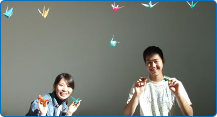 Students from the University of Tsukuba in Japan have been hosting workshops for patients at Southmead Hospital Bristol