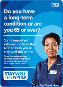 Over 60 and feeling unwell?